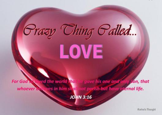 CRAZY THING CALLED LOVE -KARINA'S THOUGHT